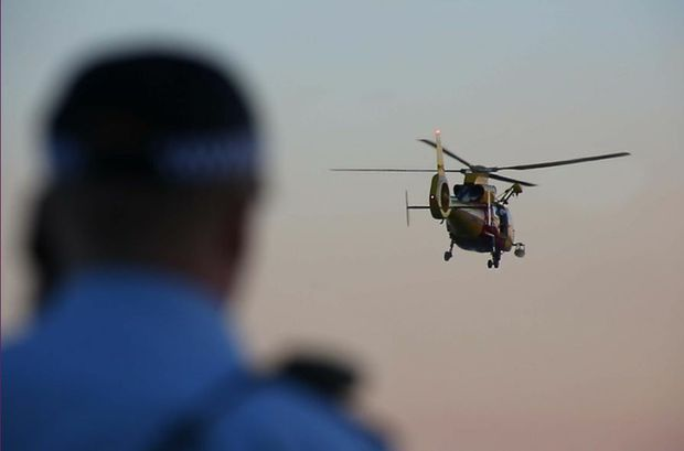 Emergency services recommenced a search for a man reported missing off Sawtell Beach at first light.