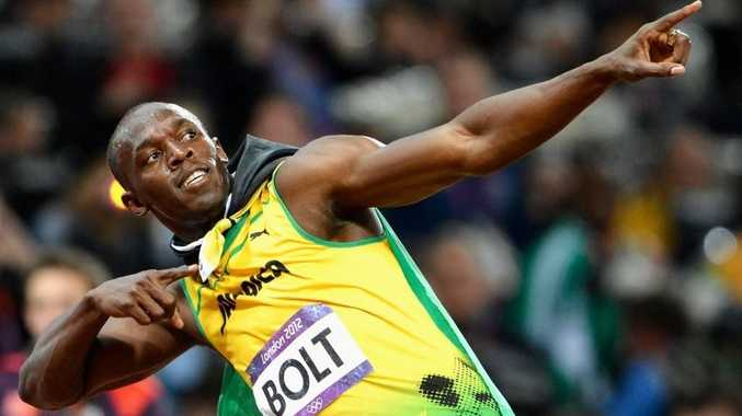 Usain Bolt of Jamaica wins gold in the Men''s 100m Final on Day 9 of the London 2012 Olympic Games at the Olympic Stadium on August 5, 2012 in London, England.