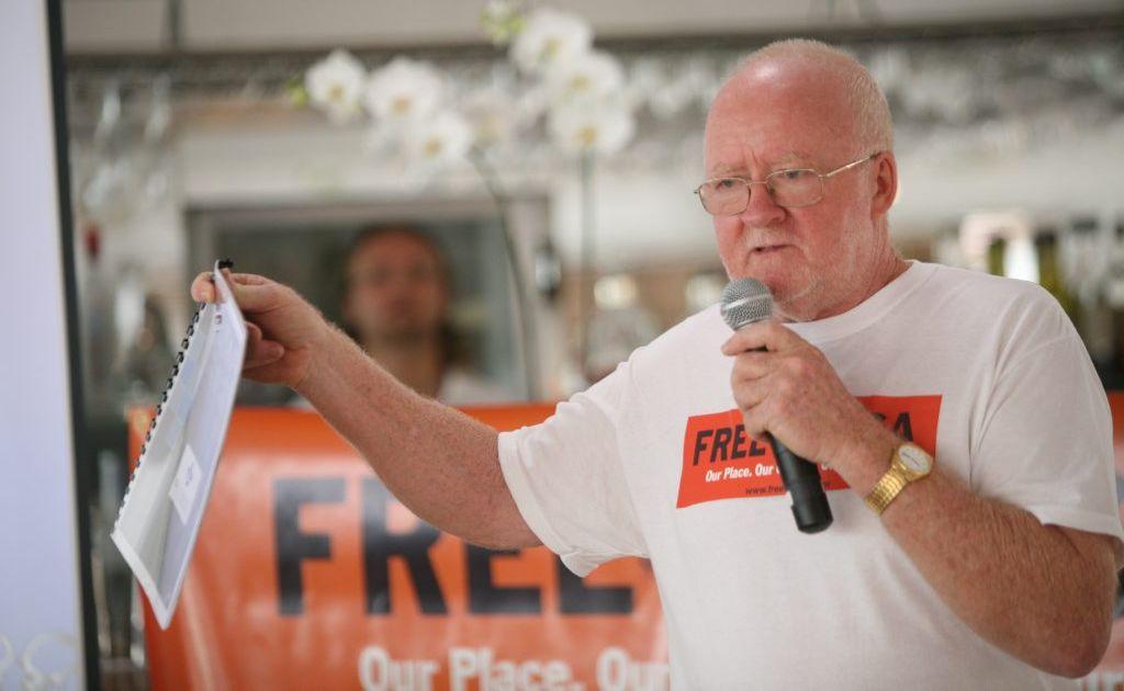 Former mayor of Noosa, Noel Playford