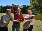 Simon Whittle, author Bill Lavarack and Barry Ashby are legends of Buderim Sport.