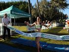 Chloe Turner was the first woman to cross the finish line in the 2012 Cane2Coral.