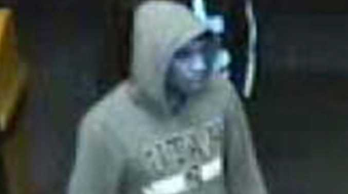 CCTV stills from robbery of the United Service Station Cohoe St on night of 05/08/12