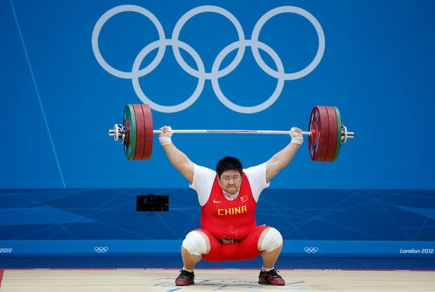 China's Zhou Lulu has broken the world record on her way to winning a gold medal.