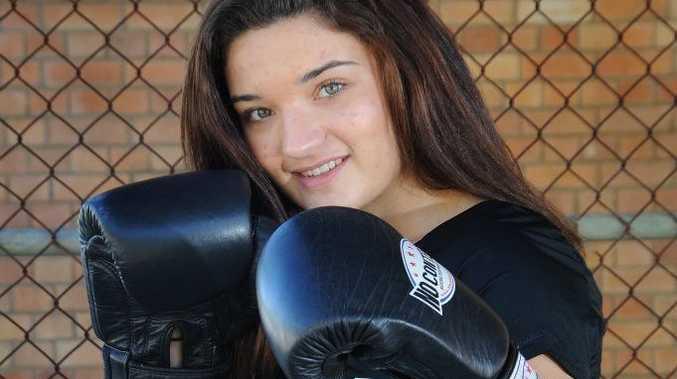 Gympie boxer Courtney Kingston