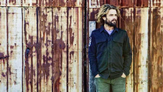 Aussie singer Xavier Rudd.
