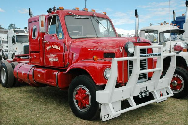Just one of the five Golden Oldie' trucks Tim Abra will be displaying at the Big Banger Truck Show. Photo: