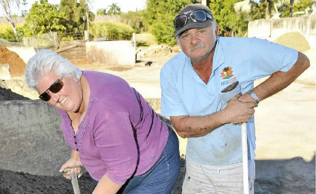 Avoca Garden Centre's Ozzy and Leann Kisnorbo are working hard to expand their business.