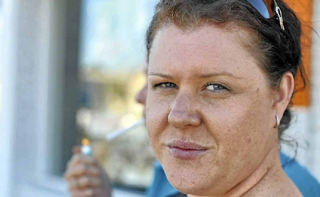 Felicity Griffin is calling on Bundaberg Regional Council to patrol no-smoking zones in the CBD.