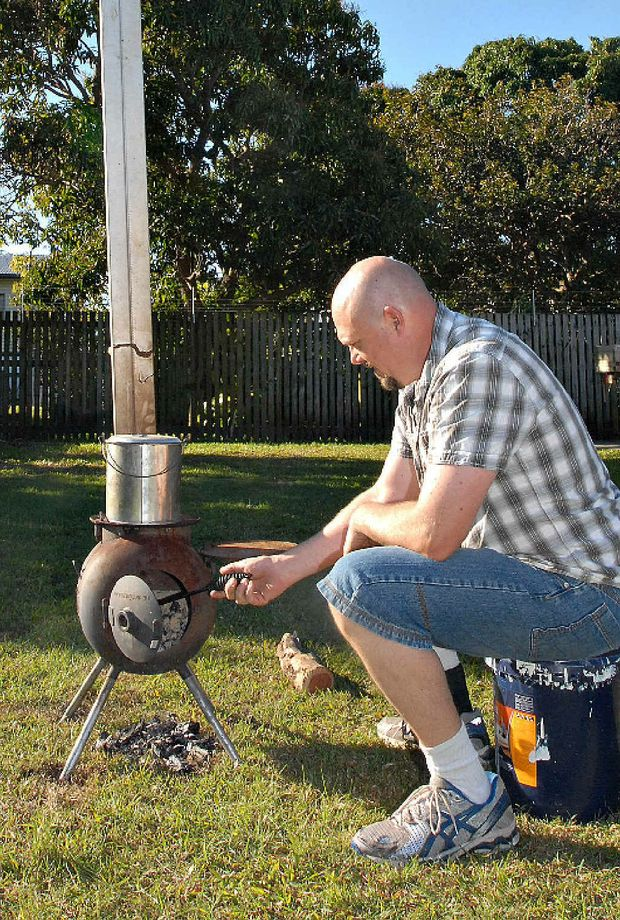 Michael Helliar loves a good barbie but has been told that his Ozpig is causing a smoke hazard in his neighbourhood.