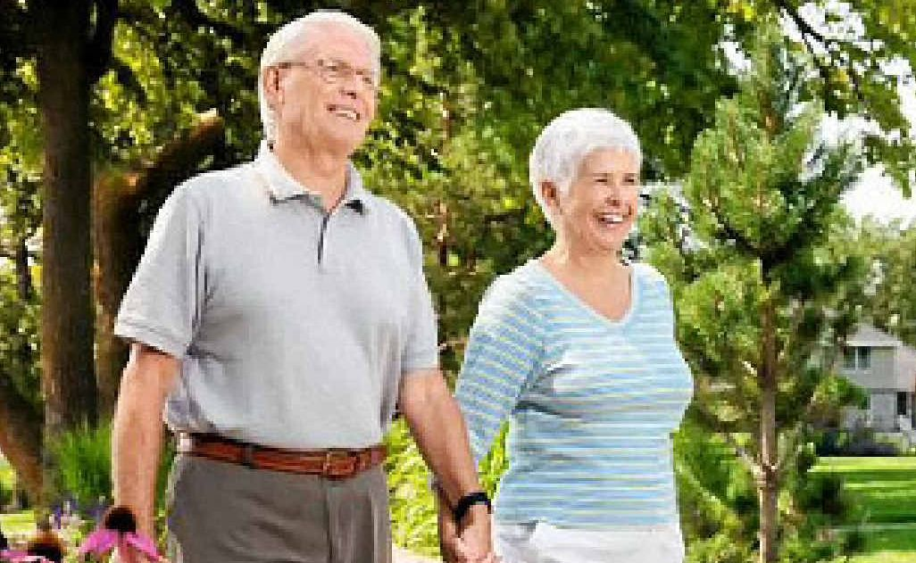 Walking is the most popular exercise for active seniors.