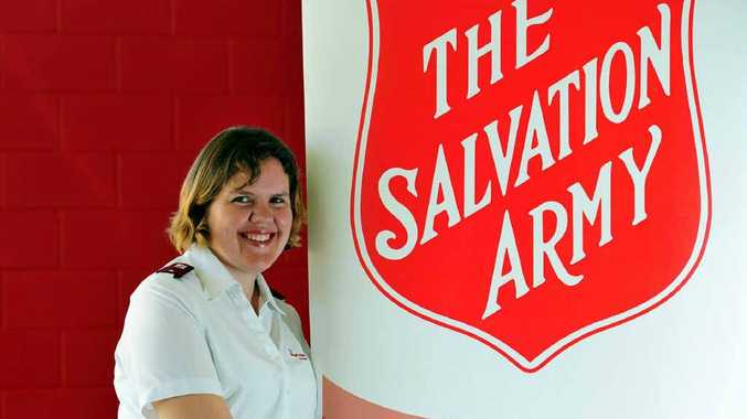 Lieutenant Lara Sutcliffe thanked Noosa locals after a successful Red Shield Appeal.