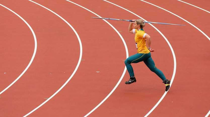 Kathryn Mitchell has progressed through to the women's javelin final.