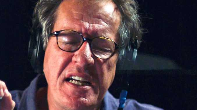 Acclaimed actor Geoffrey Rush will visit Toowoomba this evening.
