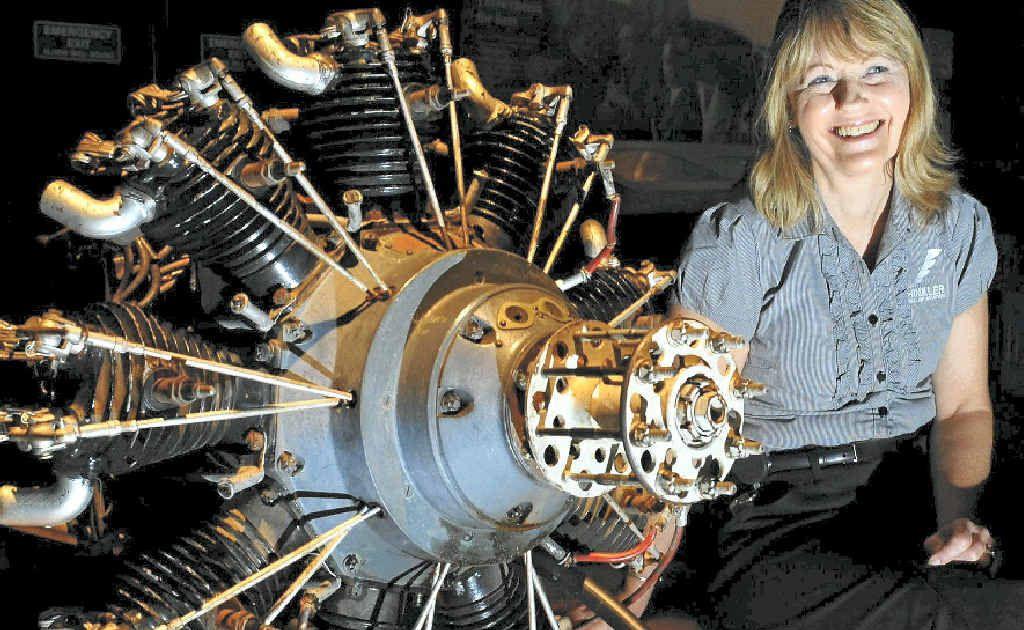 Hinkler Hall of Aviation team member Yvonne Norris.