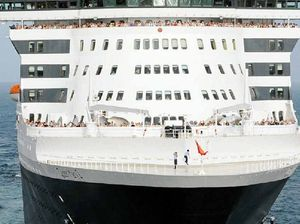 Queen Mary 2 prepares for encore