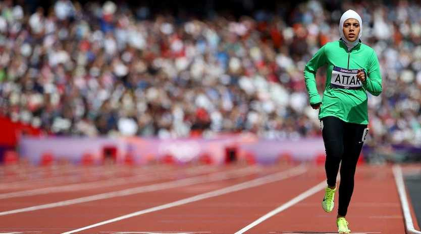 Sarah Attar has become the first Saudi woman to compete in athletics at the Olympic Games.