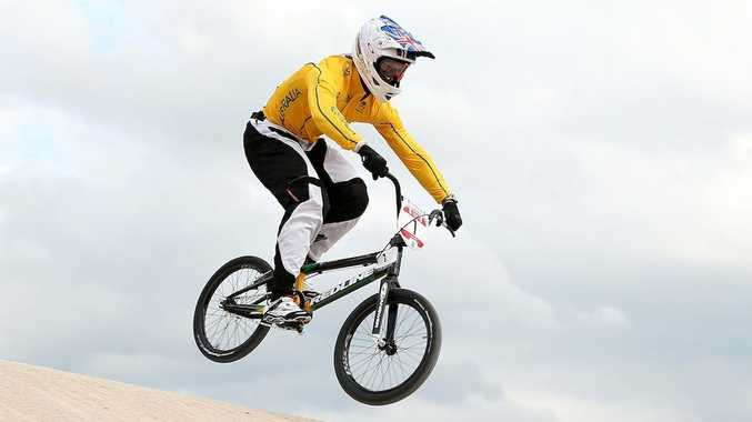 Sam Willoughby is the best placed Aussie heading into the semi-finals of the men's BMX.