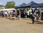 There was a big crowd at the Rotary Club of Gladstone Swap Meet and Car Boot Sale, Sunday at the Gladstone Showgrounds.