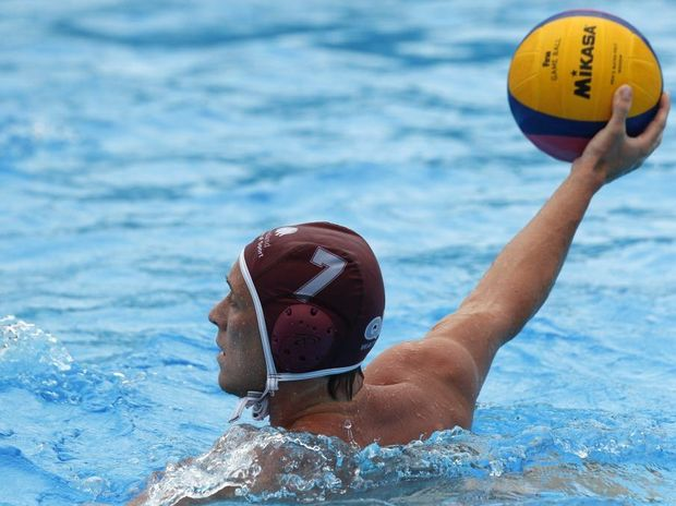 Australian water polo player Billy Miller.