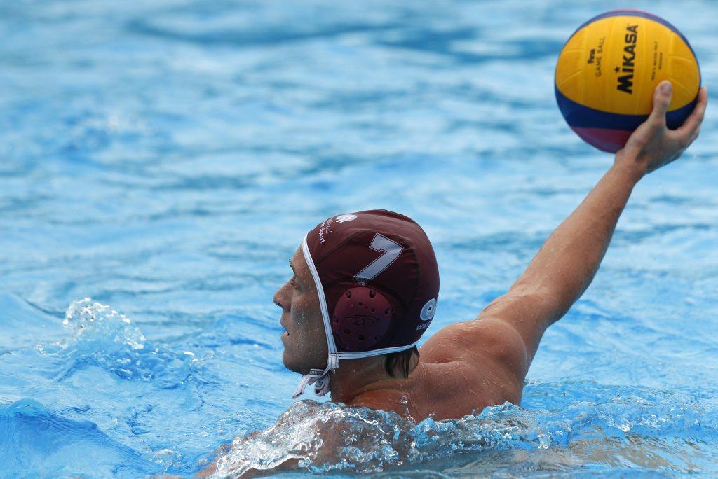 Australian water polo player Billy Miller.