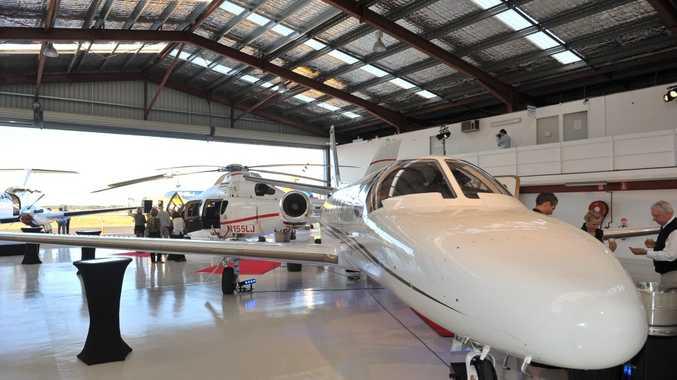 Machjet International Corporate Jet Services has opened at Sunshine Coast Airport. Photo: John McCutcheon / Sunshine Coast Daily
