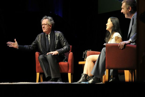 Q&A; and Cocktail Party with Geoffrey Rush and Marita Cheng.