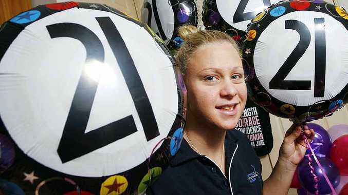Ipswich Paralympic swimmer Kayla Clarke heads to London tomorrow after celebrating her 21st birthday.