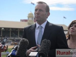 Tony Abbott at the Ekka