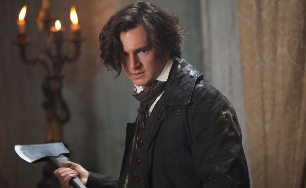 Benjamin Walker in a scene from the movie Abraham Lincoln: Vampire Hunter.