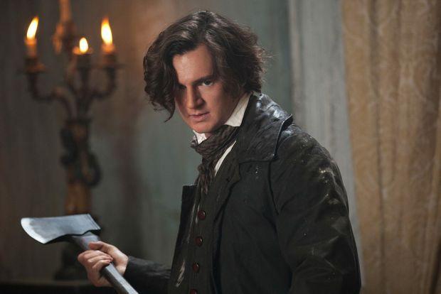 Benjamin Walker in a scene from the movie Abraham Lincoln: Vampire Hunter.