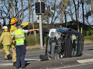 Plea to drivers after crashes
