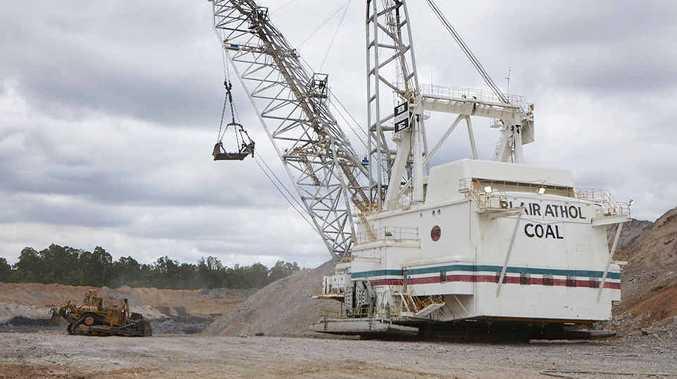 Blair Athol mine, 24km north-west of Clermont.