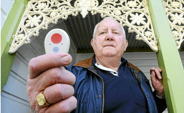 Tom Cross of Grafton - warning about a scam involving safety pendants worn by Legacy widows.