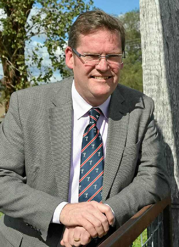 Minster for Agriculture, Forestry and Fisheries John McVeigh.