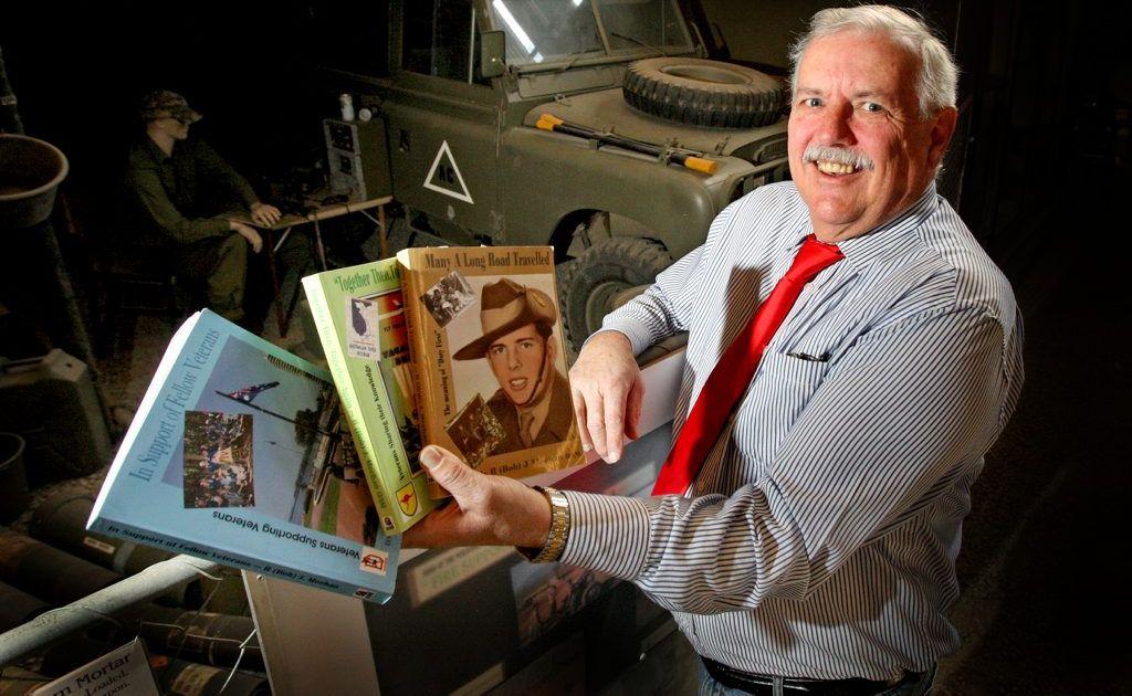Author and Vietnam Veteran Bob Meehan. Photo: Blainey Woodham / Daily News