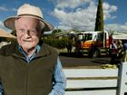 Man, 85, helps stop house fire