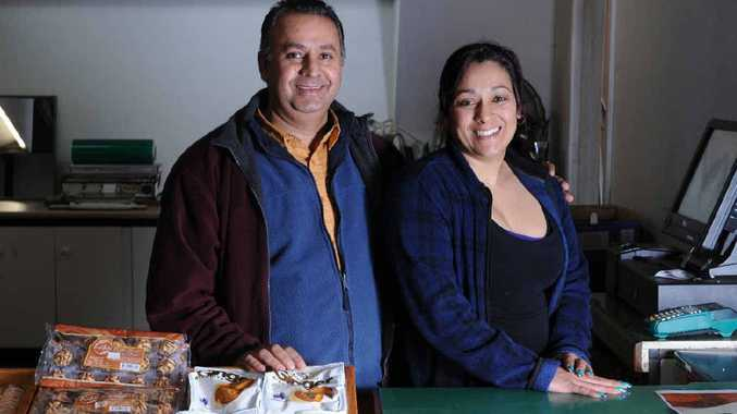 Bobby Singh Dhesi and Suzanne Dhesi of Pirlo's Fruit Barn in Lismore.