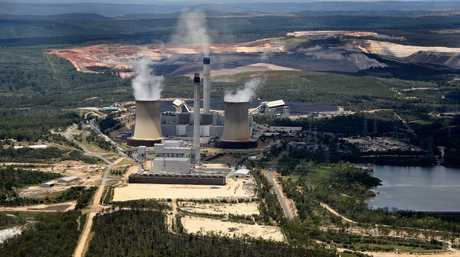 The embracing of nuclear energy could help protect the planet from the devastating destruction caused by climate change, and replace coal power plants (pictured)