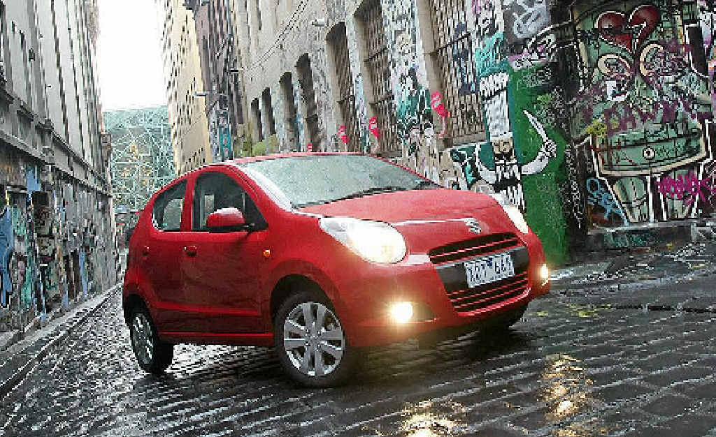 The Suzuki Alto comes with stability control and anti-lock brakes at a bargain price.