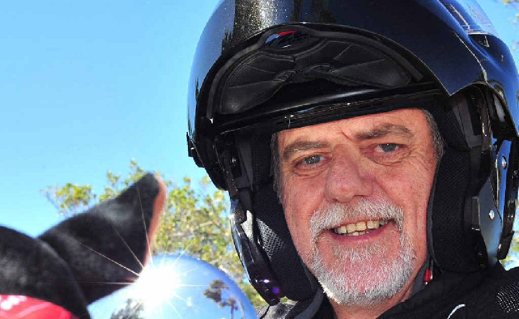 In a bid to raise awareness about depression, Glenella resident Charles Linsley has set out for Brisbane to start the Black Dog Institute's bike ride from Brisbane to Alice Springs on Saturday.