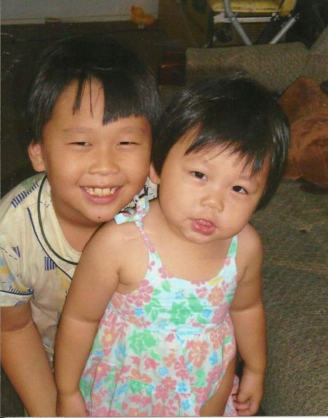 Ruy and her brother Tian Chen (Benson)