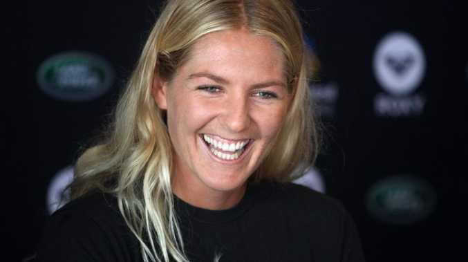 Women's world surfing champ Stephanie Gilmore.