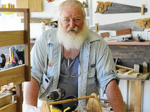 Bundaberg Men's Shed secretary Stan Bennett is looking for support to get a shed off the ground.