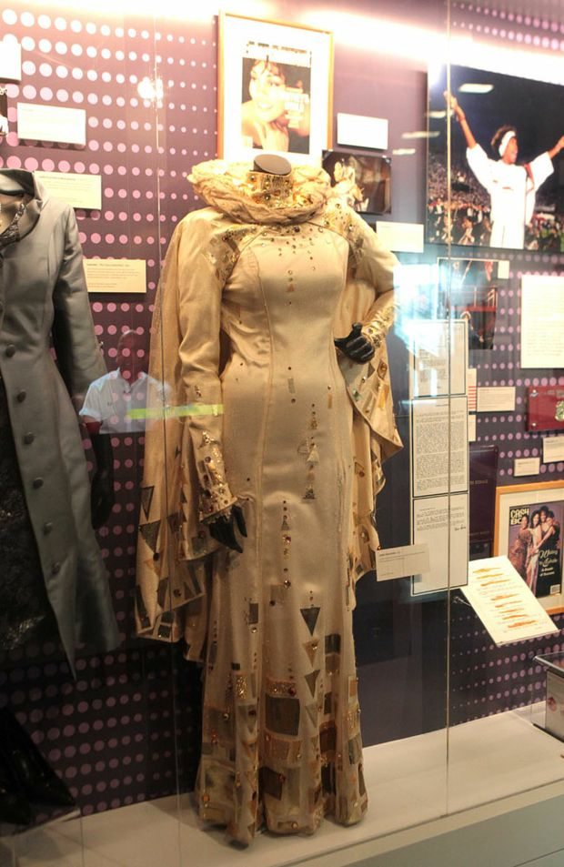 A costume from the exhibition.