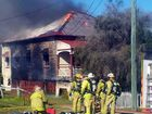 Emergency Services attend to a fire in Ipswich on Saturday, August 18.