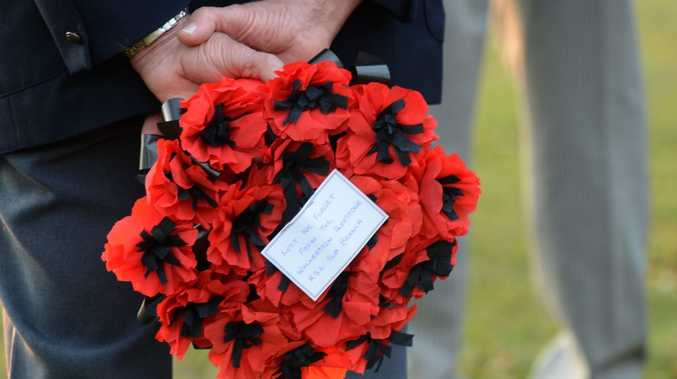 A Ceremony was held on Saturday at Jubilee Park, to commemorate the Battle of Long Tan. Photo Lee Constable / Daily Mercury