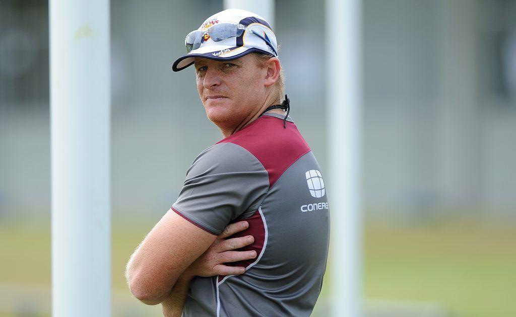 Lions coach Michael Voss.