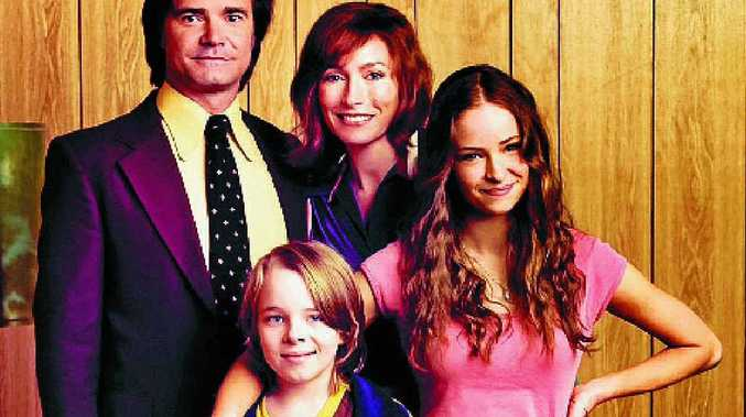 The Vickers family, played by Jeremy Lindsay Taylor, Claudia Karvan, and, front, Ed Oxenbould and Ashleigh Cummings.