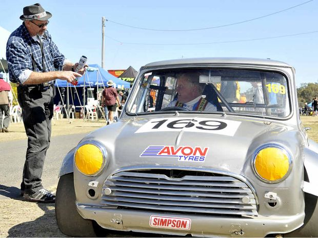Car lover Ian Mackenzie talks to Bruce Neville about his 1964 Mini Cooper S.