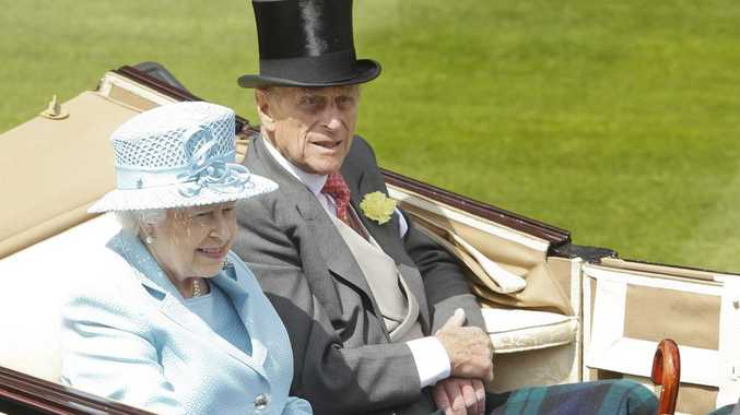 Queen Elizabeth with husband Prince Philip, who was given a knighthood by Prime Minister Tony Abbott